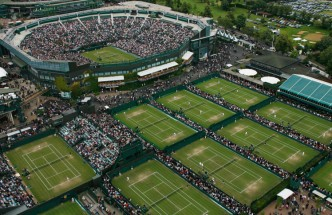 Wimbledon from above
