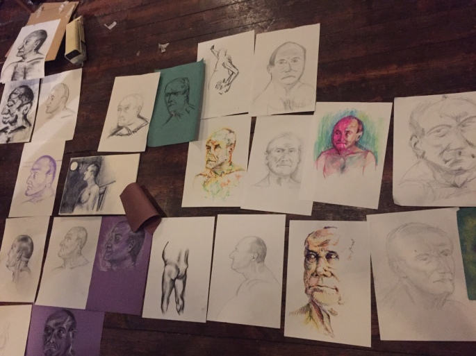 Live Drawing - The Date Night Review