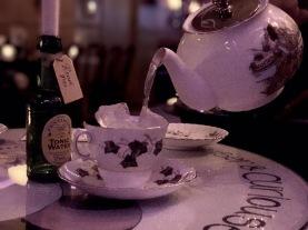 Teapot cocktails