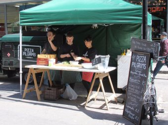 Pizza Pilgrims Starting Out in the Market