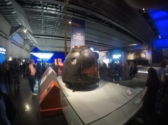 A Peake at Tim's spacecraft